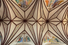 Dywity-kościół neogotycki z 1893 roku, sklepienie