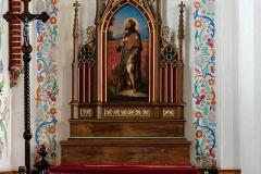 Dywity-kościół z 1893 roku, ołtarz lewy