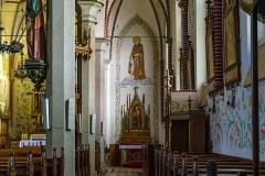 Dywity-kościół z 1893 roku, nawa prawa